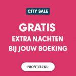 Hoge korting CityTrips, tot 50% korting en gratis extra nachten