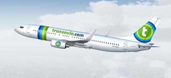Korting vliegtickets Transavia, vanaf € 39.  enkele reis