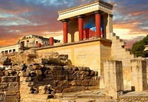 Bezoek ook de beroemde Knossos op Kreta tijdens jullie last minute all inclusive vakantie
