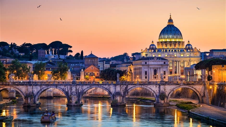 Boek nu een voordelige Citytrip Rome al vanaf 117 Euro per persoon inclusief vlucht en hotel met ontbijt 940x530 Boek nu je Citytrip Rome met vlucht en hotel vanaf € 118,  (logies + ontbijt)