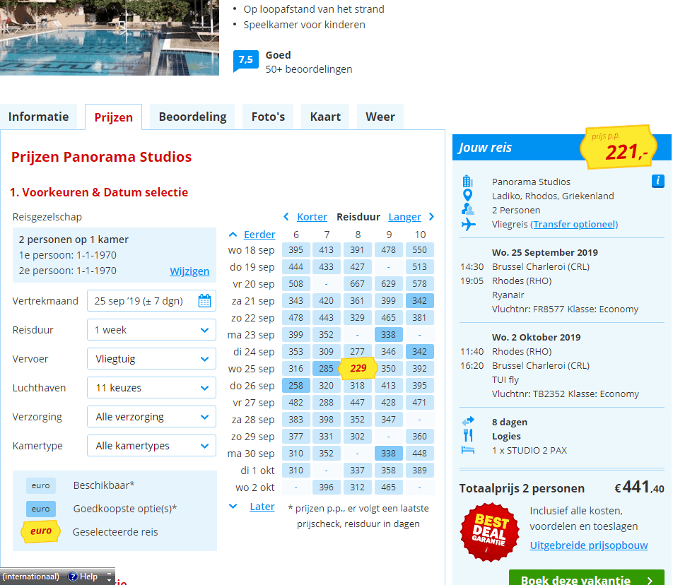 Boek nu jullie reis naar Faliraki op Rhodos vanaf 221 Euro per persoon Aanbieding Last Minute vliegvakantie Rhodos, Faliraki, vlakbij Anthony Quinn Bay, 8 dagen vanaf € 221.