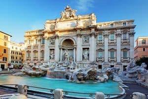 De Trevifontein in Rome 300x200 Boek nu je Citytrip Rome met vlucht en hotel vanaf € 118,  (logies + ontbijt)