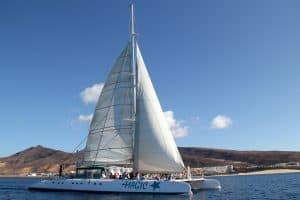 Een boottrip per catamaran boeken is een aanrader tijdens jullie familievakantie aan de Costa Calma 300x200 Familie zomervakantiedeal 7 dagen all inclusive Fuerteventura voor € 2376.  (totaalprijs voor 2 volwassenen en 2 kinderen)