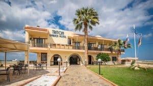 Het Triton Garden Beach Hotel 300x169 Vroegboekkorting All inclusive vakantie Kreta 8 dagen 3 *** hotel voor maar € 284,  p.p. (vertrek in mei 2020)