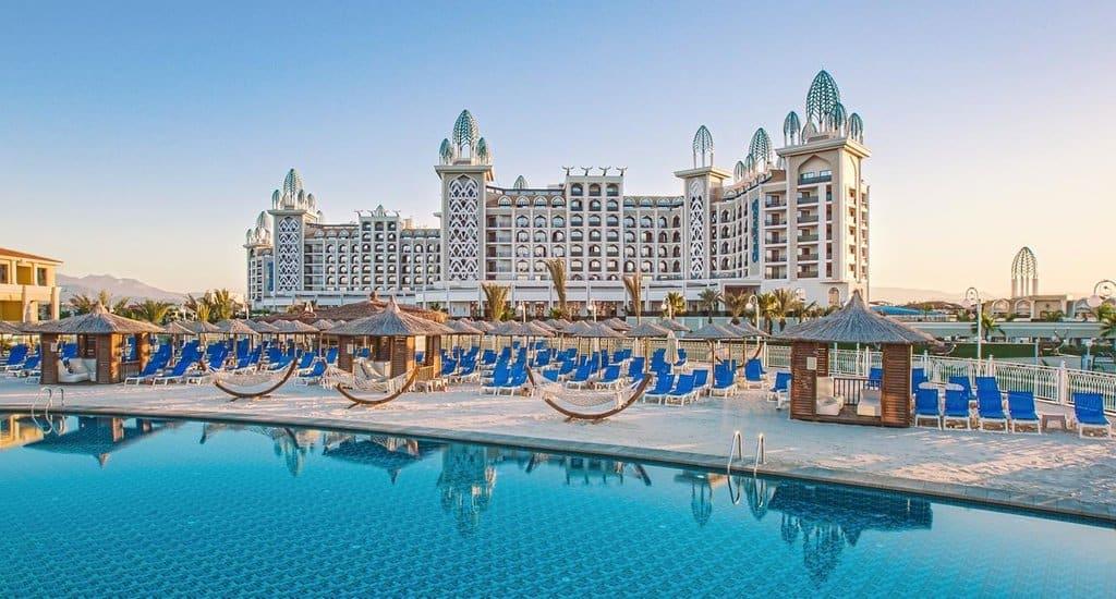 aanbiedingen goedkope Ultra All inclusive vliegvakanties Turkije Aanbieding, 8 daagse Ultra All Inclusive vliegvakantie Turkije, Side, vanaf € 365.  *****Hotel