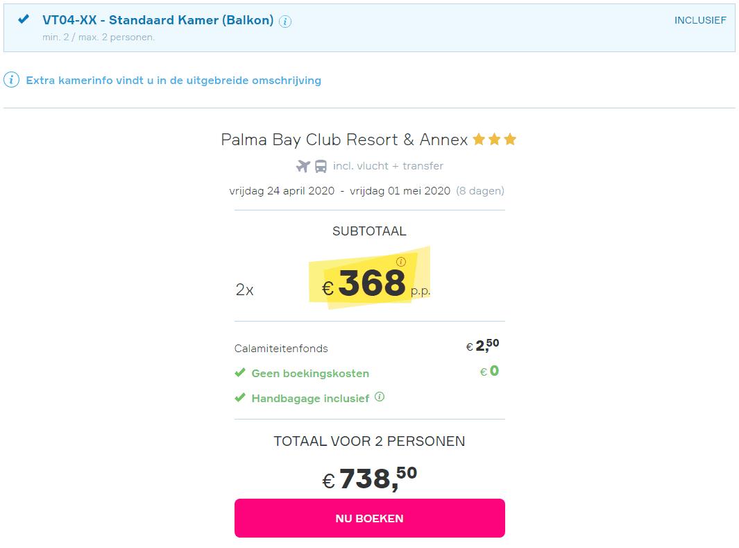 aanbiedingen goedkope all inclusive vliegvakanties Mallorca meivakantie 2020 Nu 8 dagen all inclusive naar Mallorca in de Meivakantie vanaf € 368.