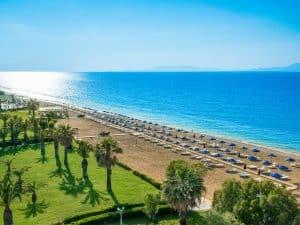 Aanbiedingen goedkope 8 daagse All Inclusive vliegvakanties Rhodos, ***Hotel, vanaf € 312.