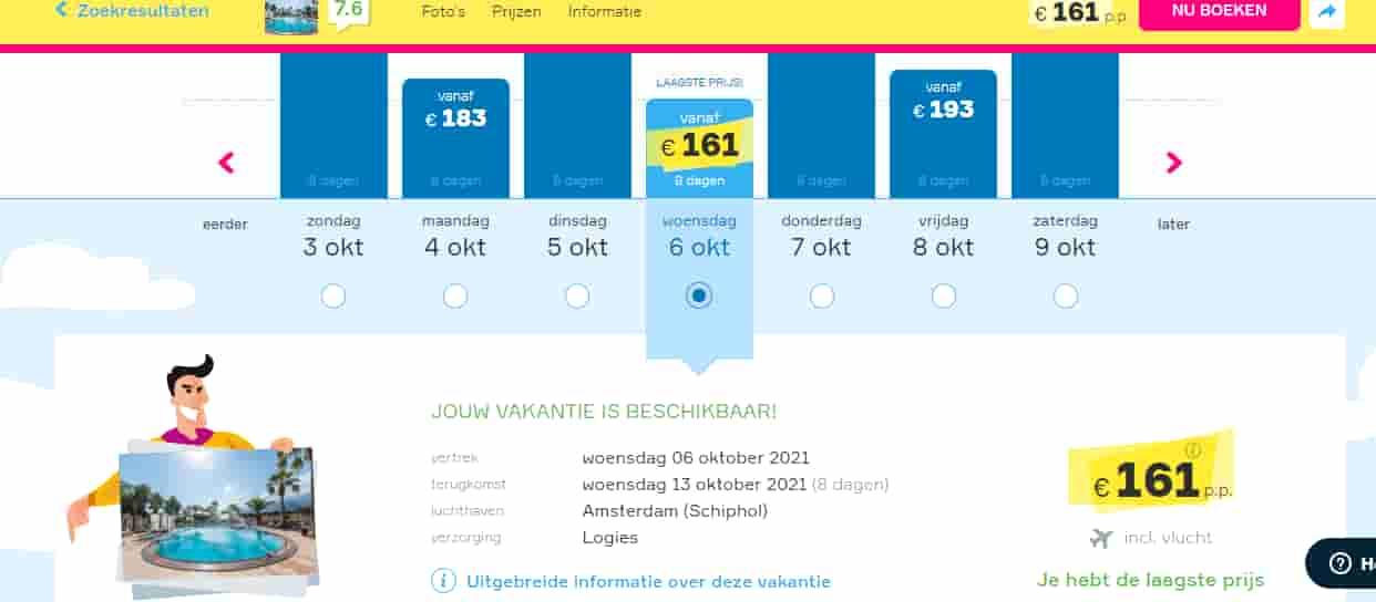 aanbiedingen goedkope vliegvakanties Griekenland 2021 1 Aanbiedingen vliegvakanties Griekenland, vanaf € 161.