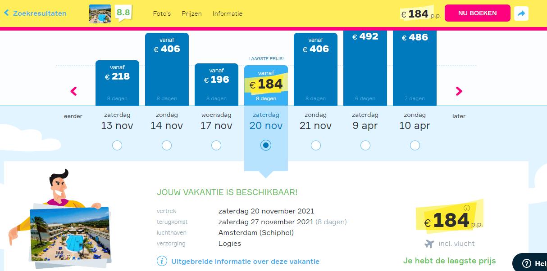 aanbiedingen goedkope vliegvakanties Griekenland 2021 1 Aanbiedingen vliegvakanties Griekenland, vanaf € 184.