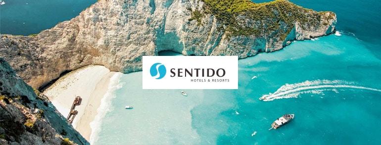 aanbiedingen hoge korting exclusieve Sentido hotels vliegvakanties Hoge korting op vliegvakanties met exclusieve top Sentido *****Hotels, nu tot € 200.  korting op veel bestemmingen