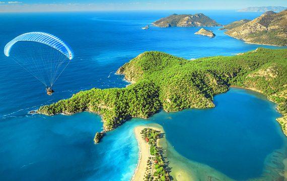 de mooiste stranden en baaien van Turkije Oludeniz 570x360 Reis inspiratie film, ontdek schitterend Ölüdeniz, Fethiye, Turkije per drone
