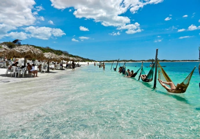 mooiste stranden in Fortaleza Brazilië Aanbiedingen 9 daagse vliegvakanties Brazilië, vanaf € 599.